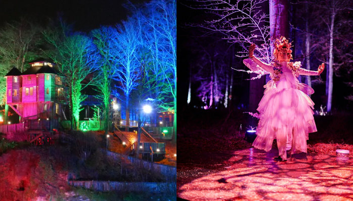 Citizen Ticket - Dalkeith Country Park Spectacle of Light and Archerfield Walled Garden Christmas Fairy Trail
