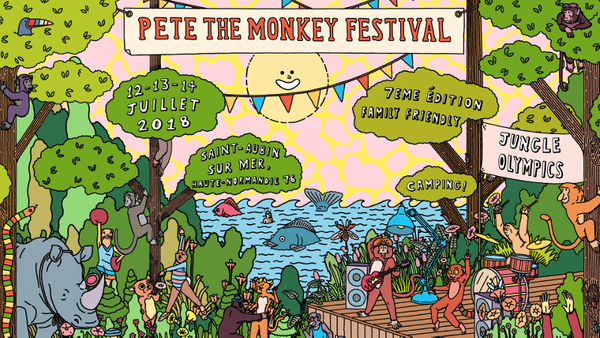 The Amazonian Playground - Pete The Monkey Festival
